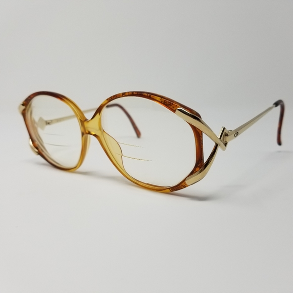Vintage Christian Dior Glasses Gold/Tortoise